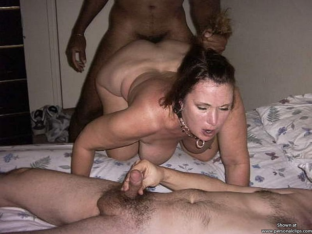 jerking my little tiny pee pee, while my wife gets pounded by her black stud.