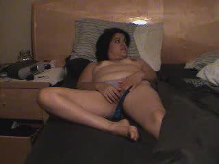 Lupe masturbating